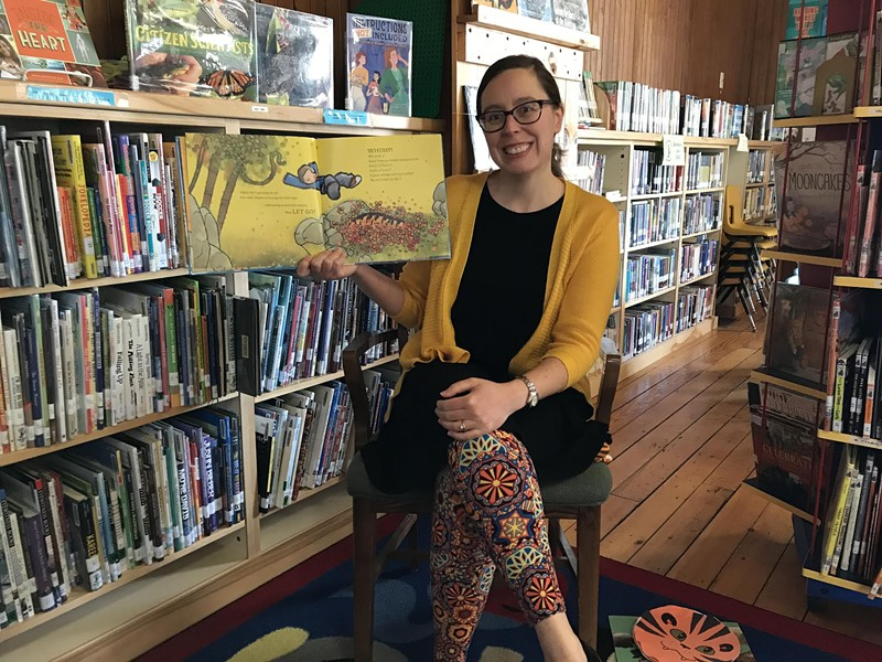 Westford library director Bree Drapa