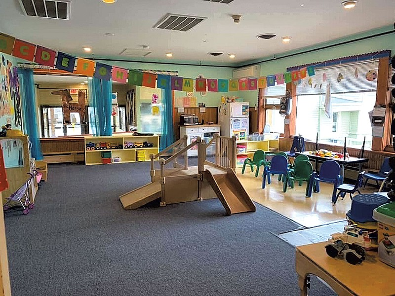 Toddler classroom at Apple Tree Learning Centers in Stowe - COURTESY OF APPLE TREE LEARNING CENTER