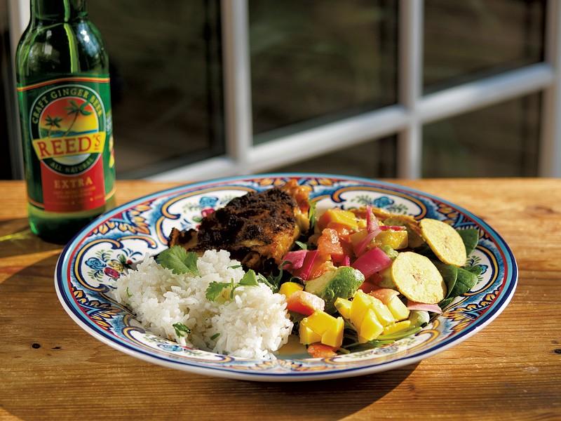 Caribbean-Inspired Salad - ANDY BRUMBAUGH