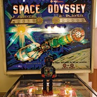 Basement Game Room Space Odyssey Pinball Timothy Santimore