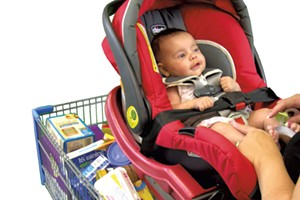 Safe-Dock Shopping Carts Make Shopping with Infants Safer