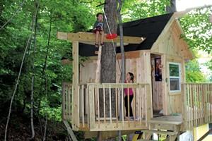 Backyard Tree House