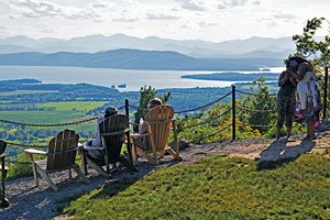 Mt. Philo summit