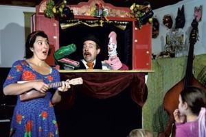 Rose Friedman and Justin Lander