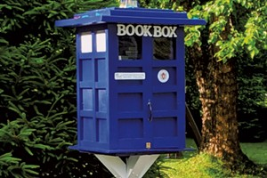 Amanda Smith's Little Free Library in Windsor