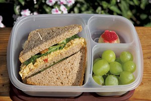 Coronation Chicken leftovers can be used in a school lunch