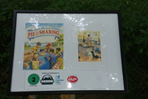 The title page of 'Pie is for Sharing'