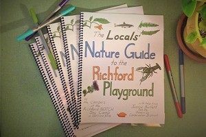 The cover of the new nature guide