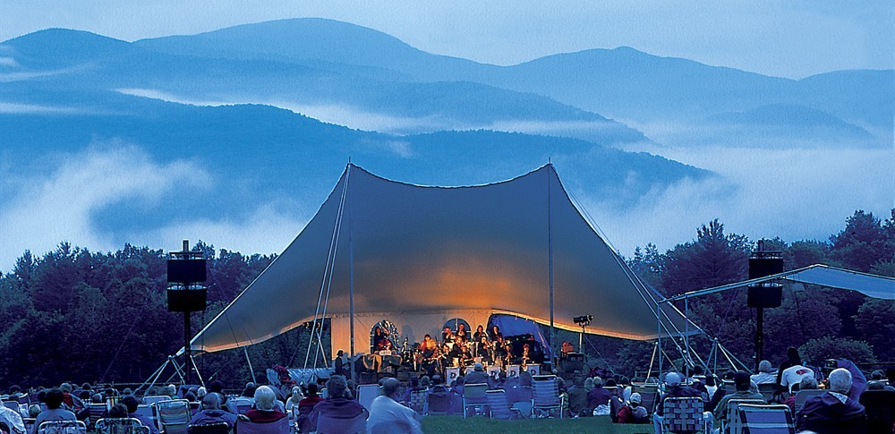 Music in the Meadow at Trapp Family Lodge