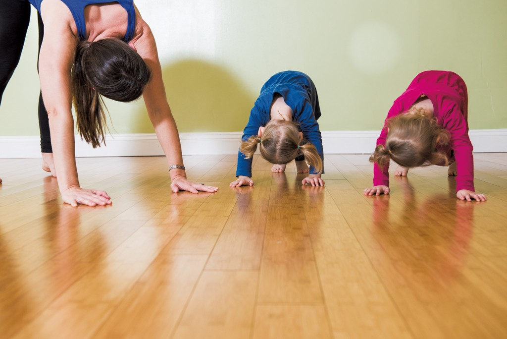 Yoga Pose Of The Month Down Dog Double Down Dog For The Dog Days Of Summer Yoga Pose Of The Month Kids Vt Small People Big Ideas