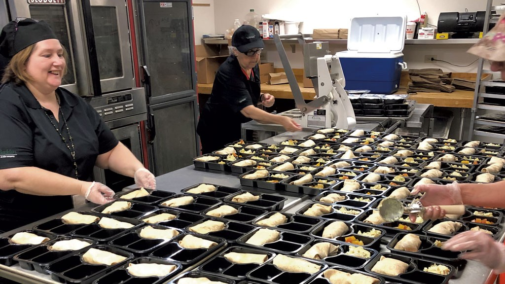 Prepping meals in Barre - COURTESY IMAGE