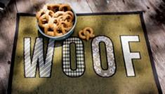 Making Peanut-Butter-Pretzel Pup Treats