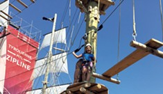 Pirate-Themed Ropes Course