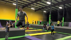 Bouncing Around at Get Air Vermont