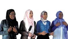 Slam Poets Muslim Girls Making Change are Going Places