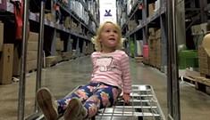 Warehouse Wandering at Ikea Montréal