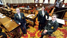 Government 101: Legislative Pages Discuss What They've Learned in the Halls of the Statehouse