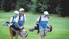 PGA Junior League Golfers Go Fore It