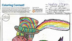 Congrats to our April Coloring & Writing Contest Winners!