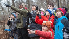 Families Engage in Citizen Science During Christmas Bird Count