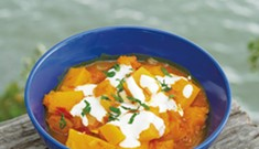 Savory Pumpkin Stew Makes a Hearty Fall Meal