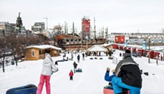 Montréal's Old Port Hosts Winter Adventure Park