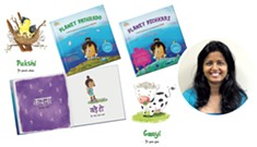 Jericho Mom Creates Books to Teach Indian Languages to Kids