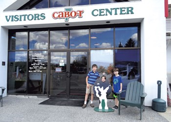 Vermont Day-cations: Cabot Creamery Visitors Center & Wonderfeet Kids' Museum