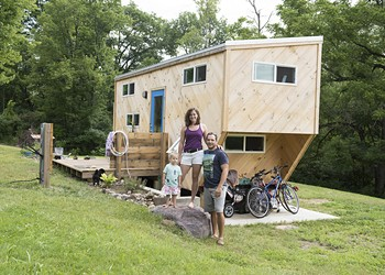Living Small: A Family of Three Makes a Tiny House Their Home