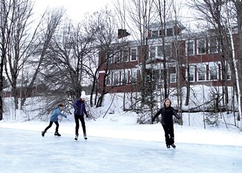 How a Small Vermont Town Built an Ice Rink on a Budget