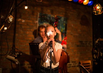 Jazzed: Precocious Performer Lights Up Festival Stage