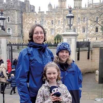 Ruesink-Barker Family, England, 2013