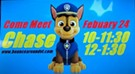 Meet Chase from Paw Patrol