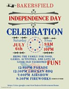 Bakersfield Independence Day Celebration