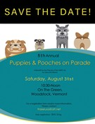 Puppies and Pooches on Parade