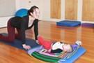 Mom and Baby Yoga