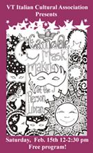 Carnevale Mask Making Event