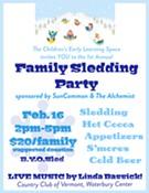 Family Sledding Party