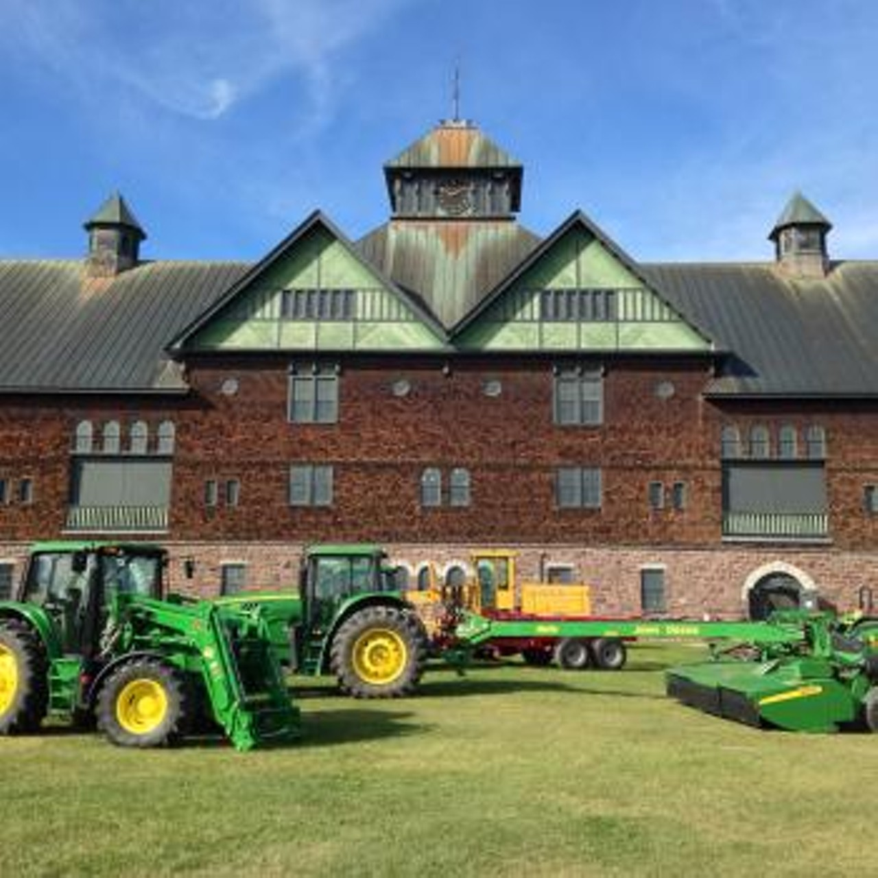 terrific tractors other cool machines shelburne farms science