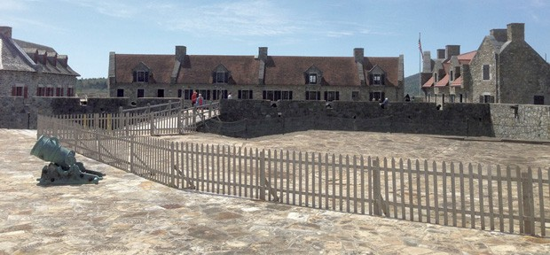 View from the top of Fort Ticonderoga