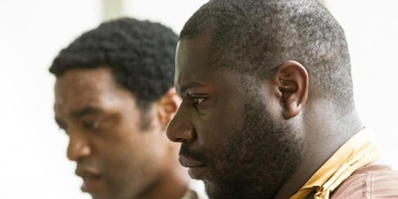 12 Years a Slave: actor Chiwetel Ejiofor and director Steve McQueen