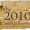 2010 commandments