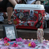 30 Photos of Elvis Fans and Their Elvis Week Shrines