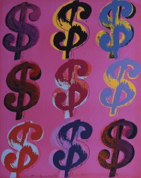 $ (9), 1982, Founding Collection, The Andy Warhol Museum, Pittsburgh