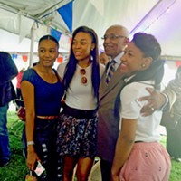 BBQ Fest 2015: How It Went at A C's Tent on Opening Night A C Wharton and friends JB