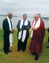 A C Wharton, Myron Lowery, and the Dalai Lama