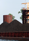 A coal shipment at TVA's Allen Fossil Plant