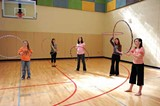 KIMBERLY SPEROS - A hooping class
