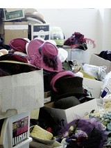 A roomful of hats