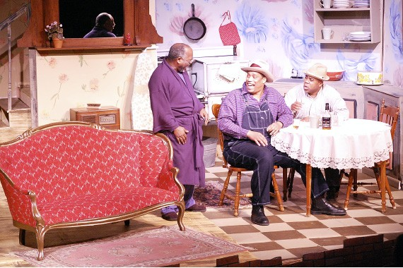 A scene from Hattiloo Theatre's production of August Wilson's The Piano Lesson